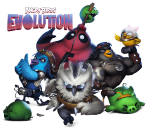 Evolution Characters foreground