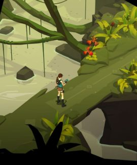 poshagovaya strategiya lara croft go